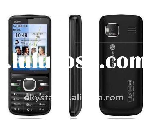 2.4inch touch screen wifi UMTS 2100 and GSM cheap 3G dual sim phones video call W306T mobile phone
