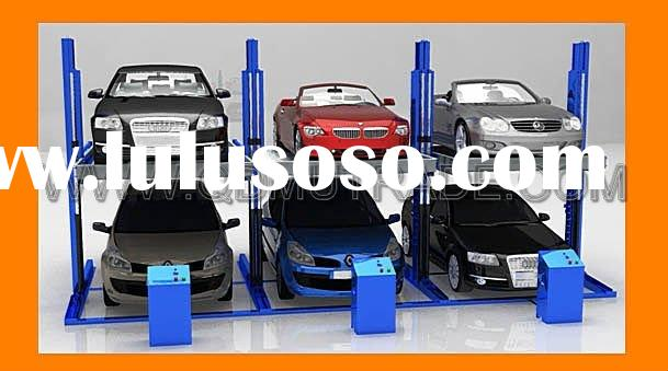 2 Post Cheap Mechanical Car Parking System / Shared Post / CE