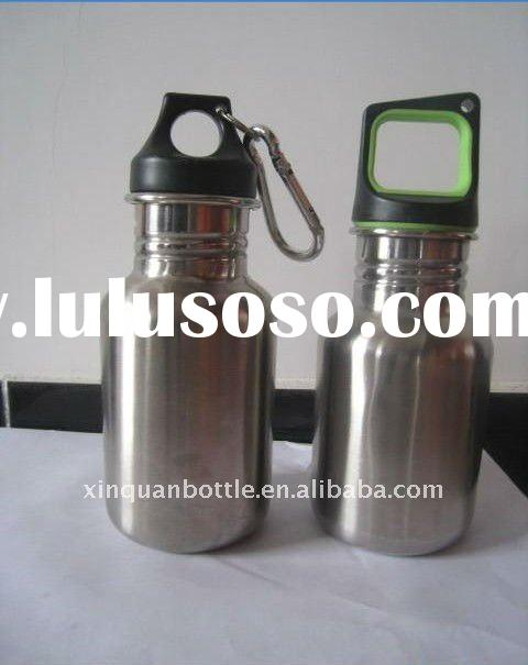 350ml stainless steel baby bottle with diferent caps