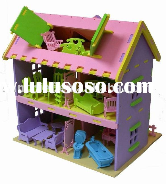 3D EVA FOAM DOLL HOUSE PUZZLE