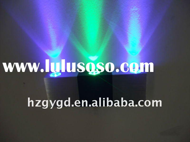 3*1W brightness LED wall lamp for hotel decoration