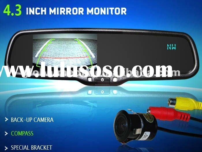 3.5 inch special lcd auto dimming rear view mirror with car bluetooth system AK-035LA7 for Toyota Pr
