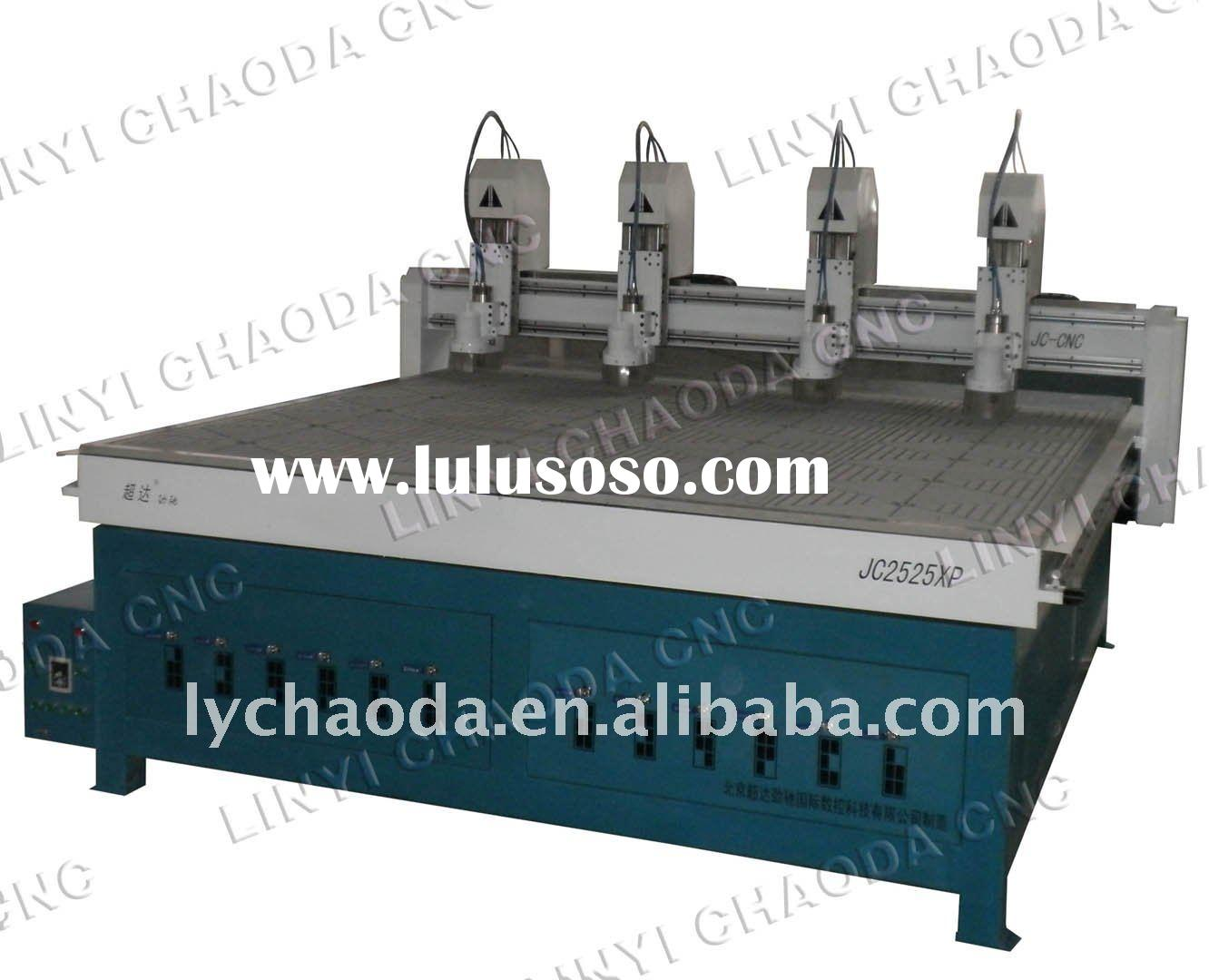 wood carving machine 4 spindles wood carving machine cnc router cnc ...
