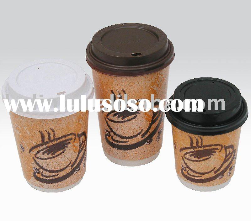 4oz-22oz paper coffee cup with lid