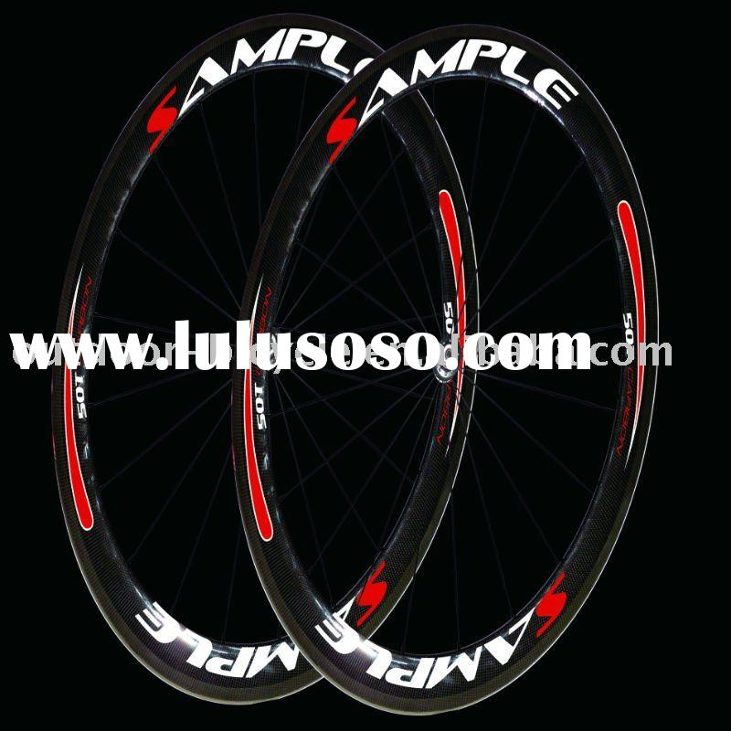 50mm tubular bicycle wheel, carbon wheel 700C