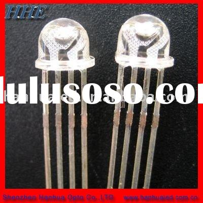 5MM STRAW HAT full color LED DIODES( WHITE DIFFUSE)