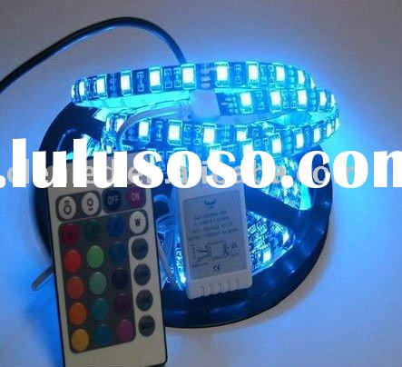 5M RGB led strips+IR Remote+Power