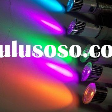 5W RGB led light lamp with remote control E27 MR16 GU10