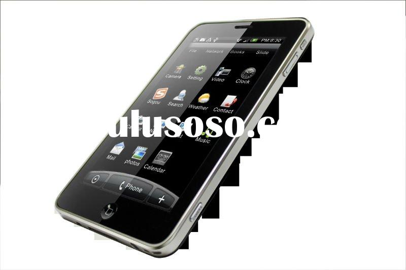 "5""Capacitive+Dual SIM+Bluetooth+TV+GPS+Dual Camera+Android 2.3+Tablet PC mobile phone"