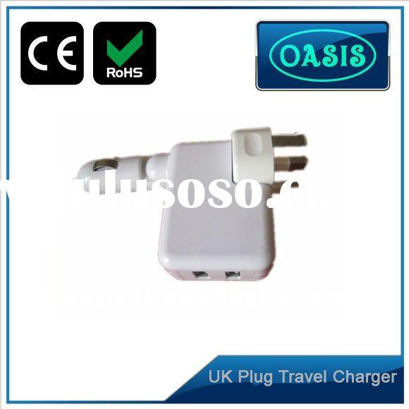 5v 2a universal usb wall charger with car charger