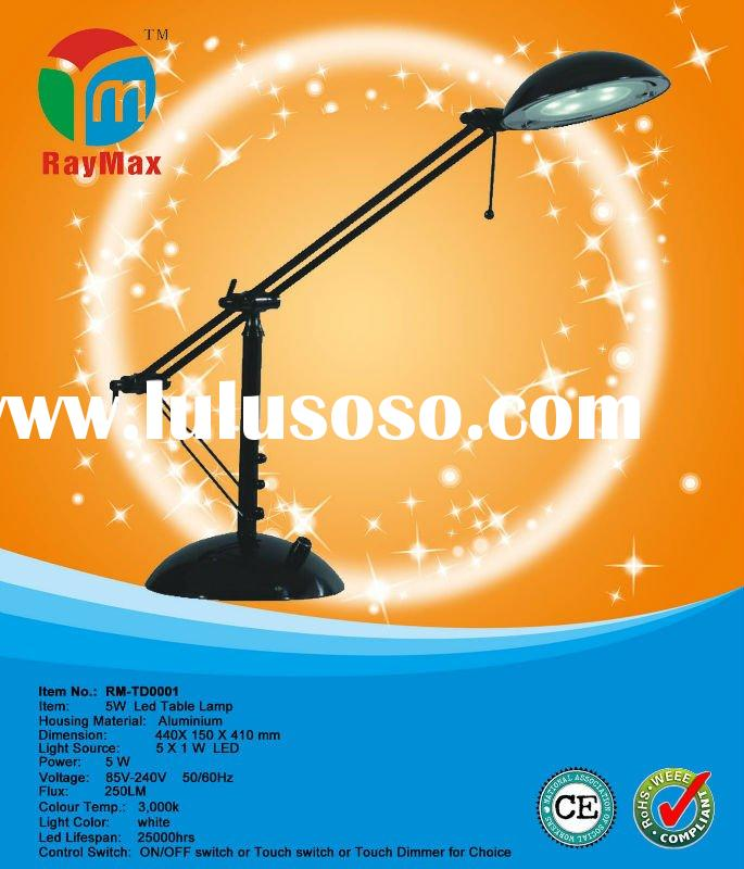 5w small table lamp, decorative table lamps, led lamp table (Item No.: RM-TD0001)