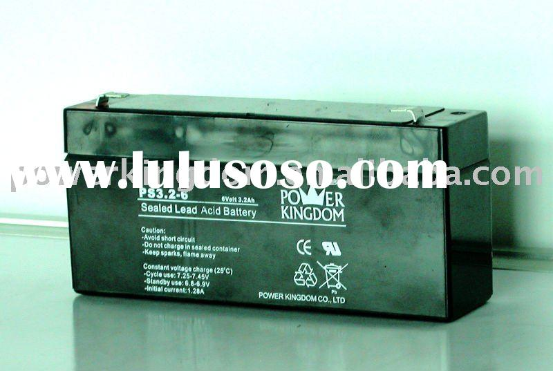 6V 3.2Ah sealed Lead Acid Battery