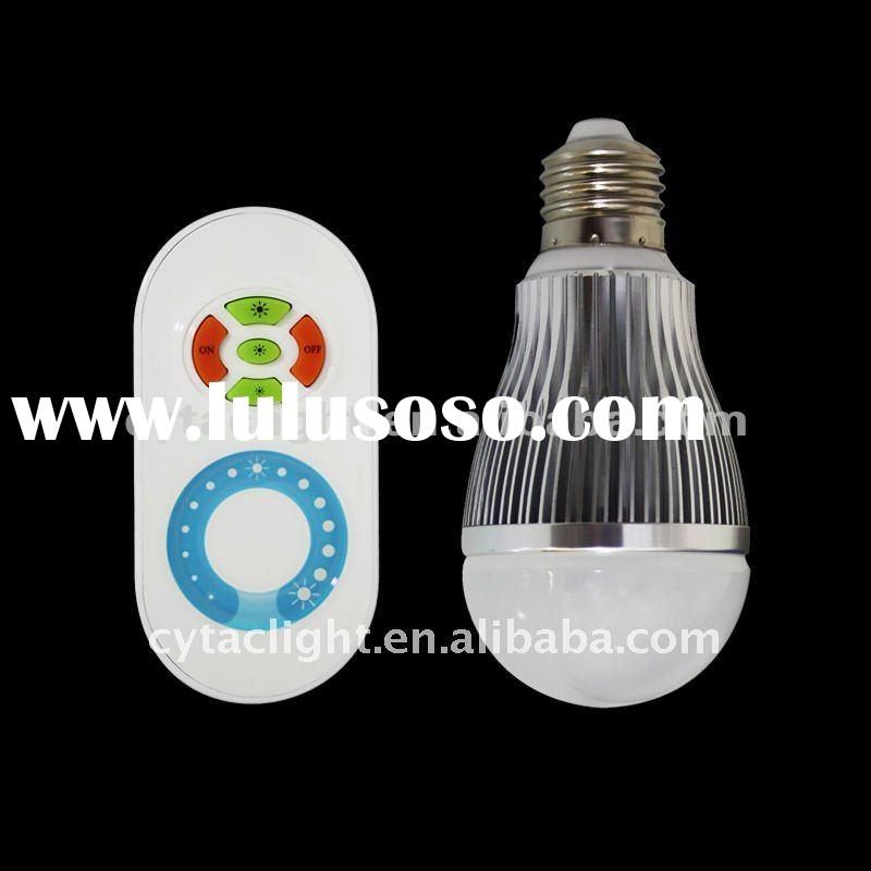 6W LED sensor Brightness Adjustable Bulb|Dimmable Bulb|light changing bulb