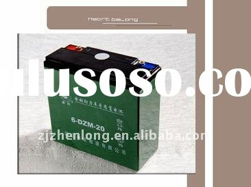 6-DZM-20 sealed lead acid battery