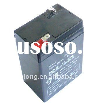 6v sealed lead acid battery 4.5AH