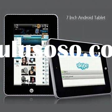 "7"" Touch Screen 4GB FLASH tablet pc accessories with ANDROID GOOGLE SYSTEM 2.3"