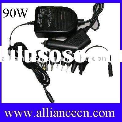 90W Universal Laptop dc Adapter,car charger