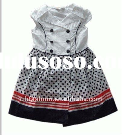 90*88 cotton poplin baby frock designs