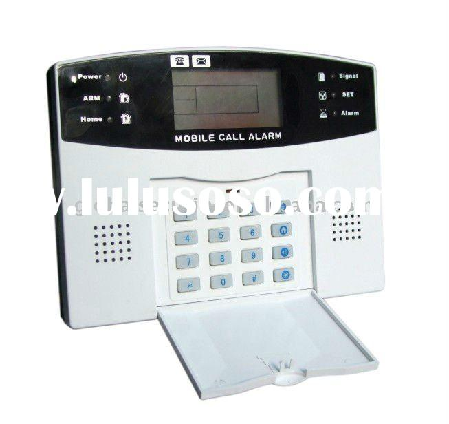 99 wireless sensors GSM LCD home alarm System