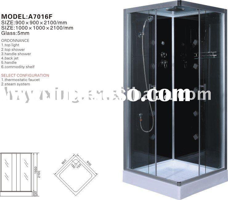 A7016FHydroMassage steam shower cabin,bathroom,sanitary ware,abs acrylic shower,luxury steam room, c