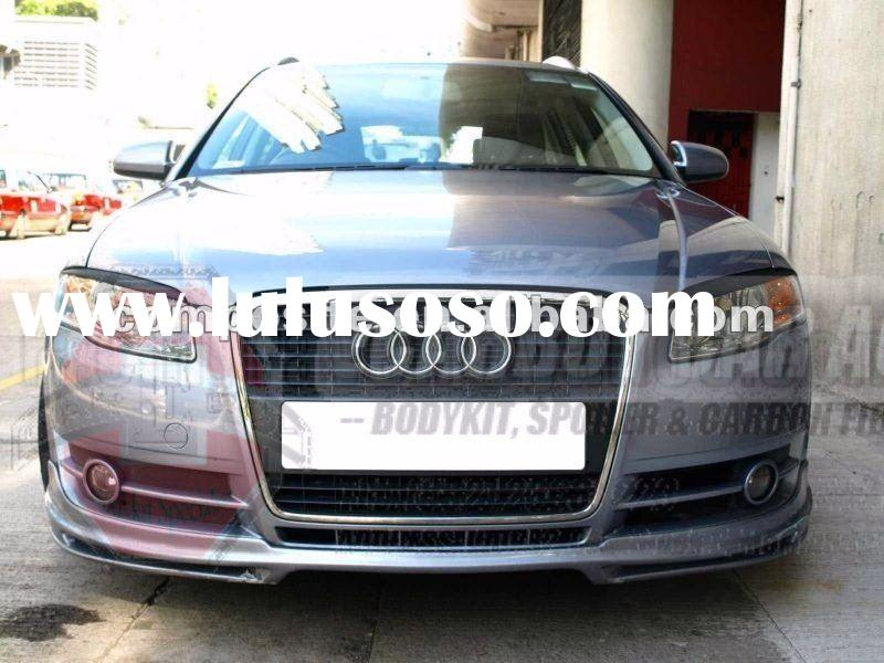 AUDI 2006-2008 A4 B7 PU BODYKIT SPORT FRONT BUMPER LIP (Brand new, no MOQ,In stock, Free shipping)