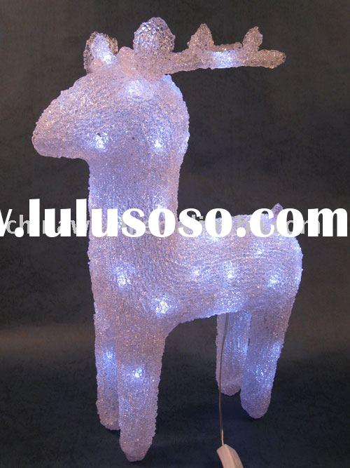 Acrylic reindeer light/LED decoration/decorative light