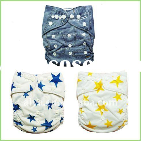 All in One Size Nappy, Machine Dryable & Washable Baby Cloth Nappy