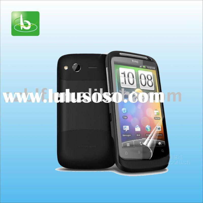 Anti-glare/matte mobile phone screen protector for HTC Desire S G12