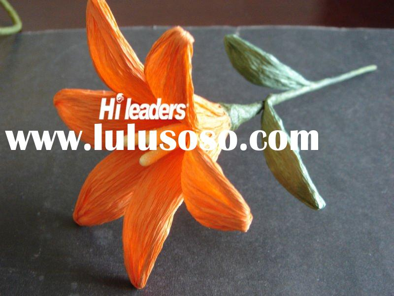 Artificial paper flower for decoration