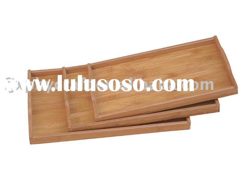 Bamboo Serving tray SET/3