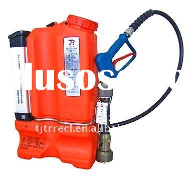 Battery powered Backpack Single Phase Flow Water Mist Fire extinguisher