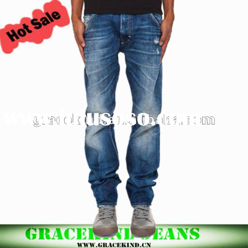 Best Jean Mid Rise Style Men Jeans Fashion in 2011 (GKCM079)