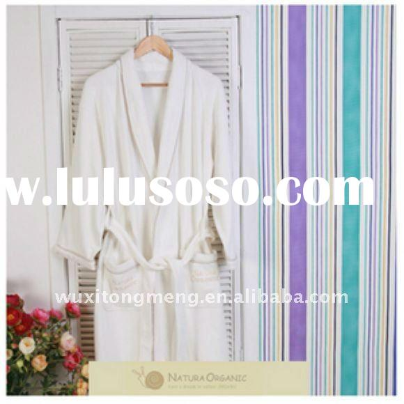 Best Sale 100% organic cotton Bathrobes for Adults