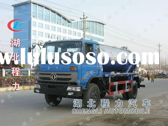 Bin cleaning truck vacuum septic truck for sale