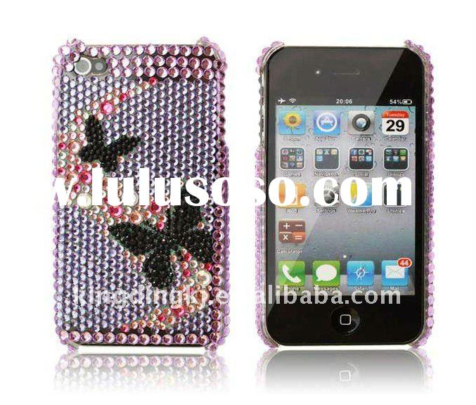 Bling Bling Crystal Back Cover for Apple iPhone 4