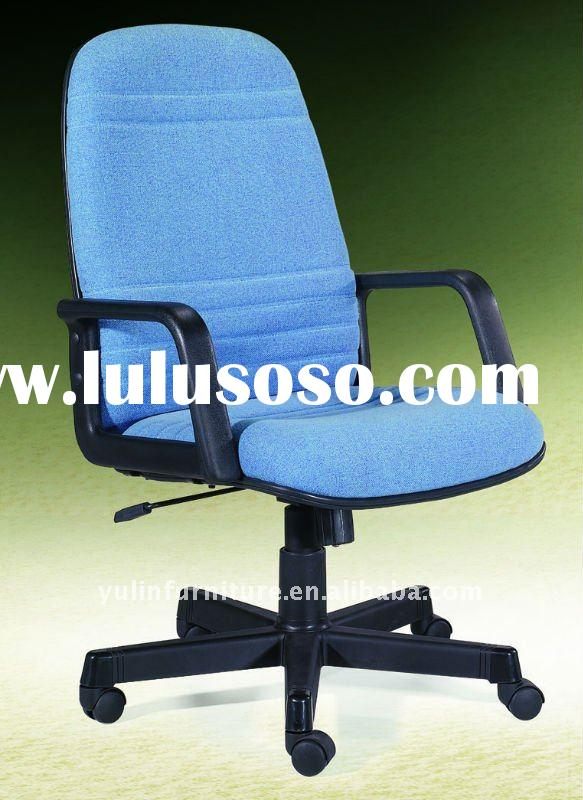 Blue high back office chair