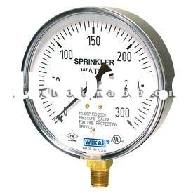 Bourdon Tube Wika Pressure Gauge Type 111.10SP Sprinkler Gauge Standard Series