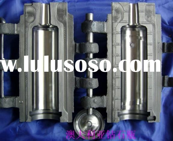 CNC machine 700ml Australian diamond glass bottle mould