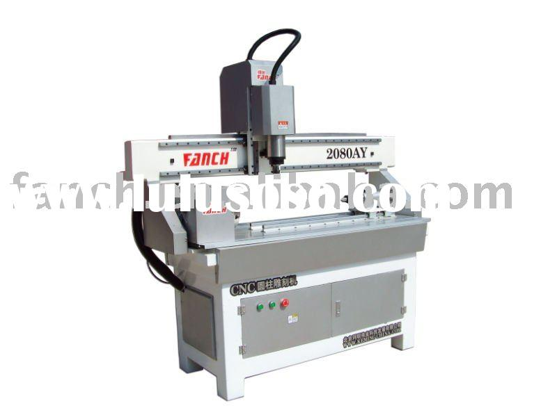 CNC router engraving machine for cylinder