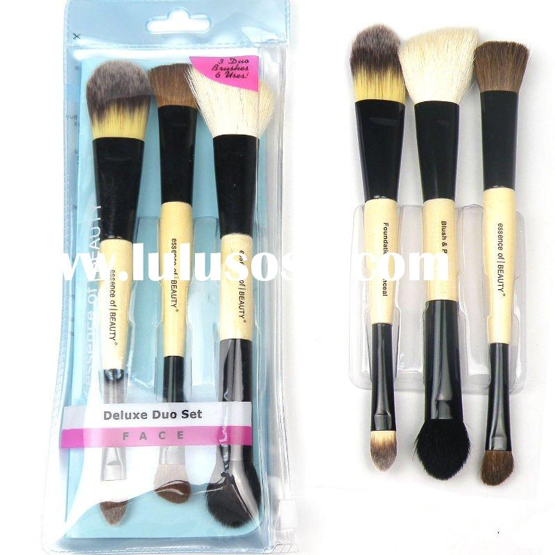 CVS brushes Double End Essence OF Beauty sells 3 pcs makeup brush set