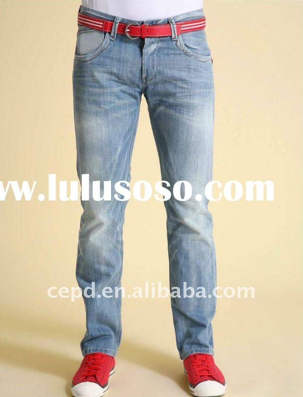 Casual fashion men jeans for 2012