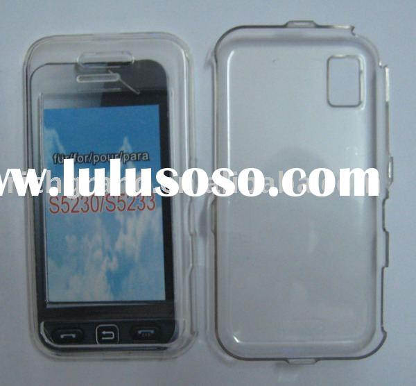 Cell phone crystal case for nokia s5230/5233