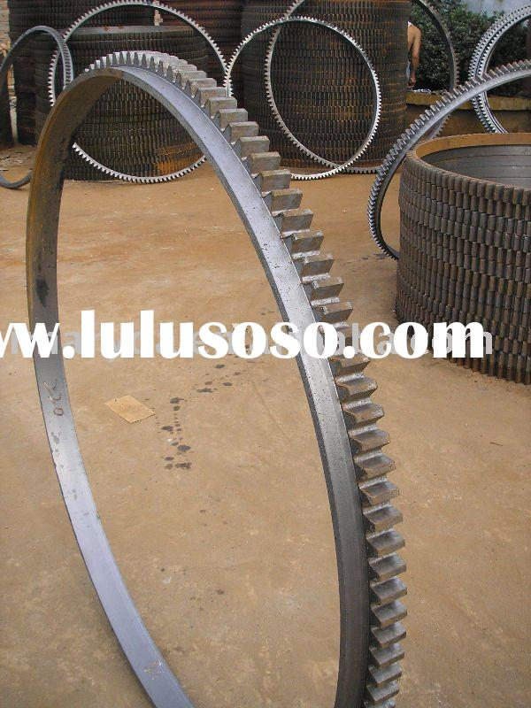 Cement Mixer Ring Gear, cement mixing machine Ring Gear, concrete mixer Parts