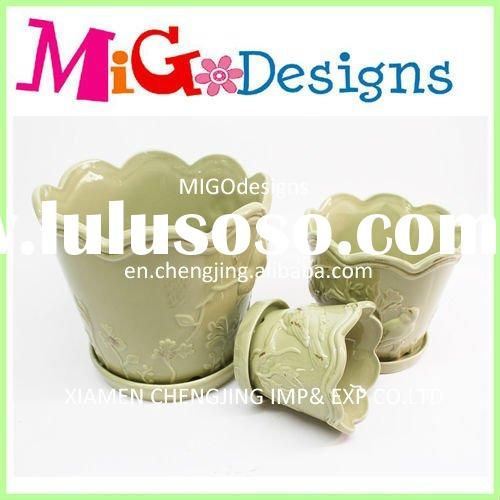Ceramic Garden Pot Sets,flowers pot,Ceramic Flower Planter