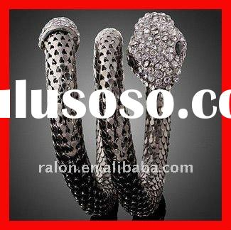 Cheap bendy snake tungsten steel cool fashion bracelets fashion accessories