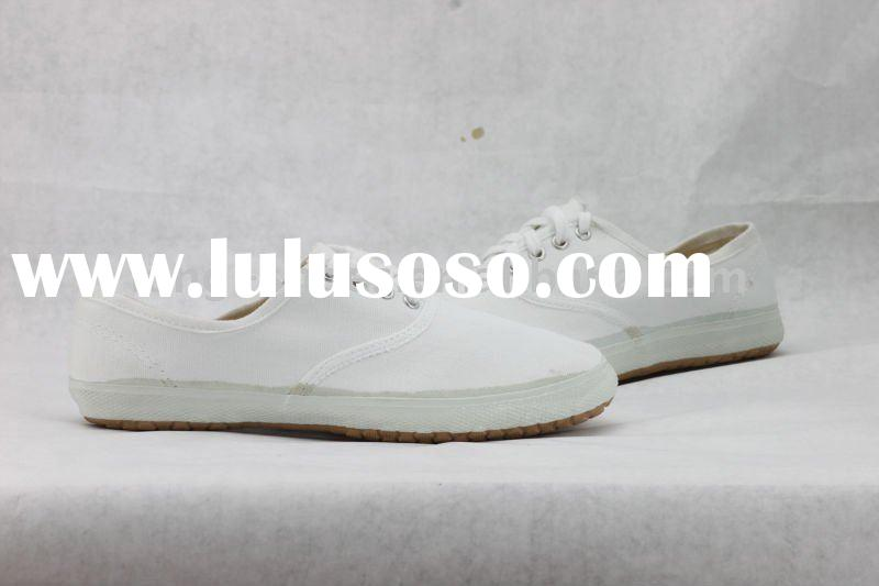 China Cheap Blank White Espadrille Canvas Shoes
