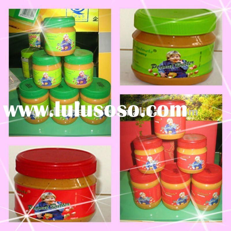 Chinese Creamy&Crunchy peanut butter factory
