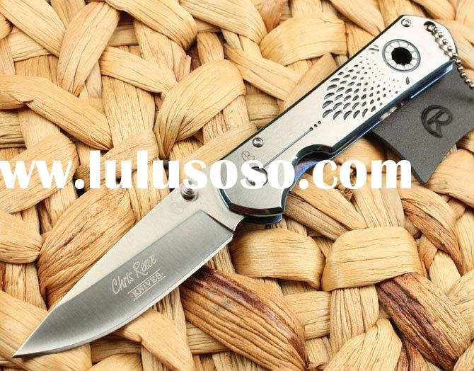 Chris Reeve F32 100% Stainless Steel Folding Camp Fishing Pocket Tactical Survival Military Knife Gi
