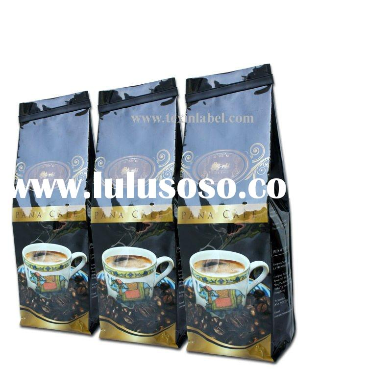 Coffee Bag with degassing valve/coffee packaging