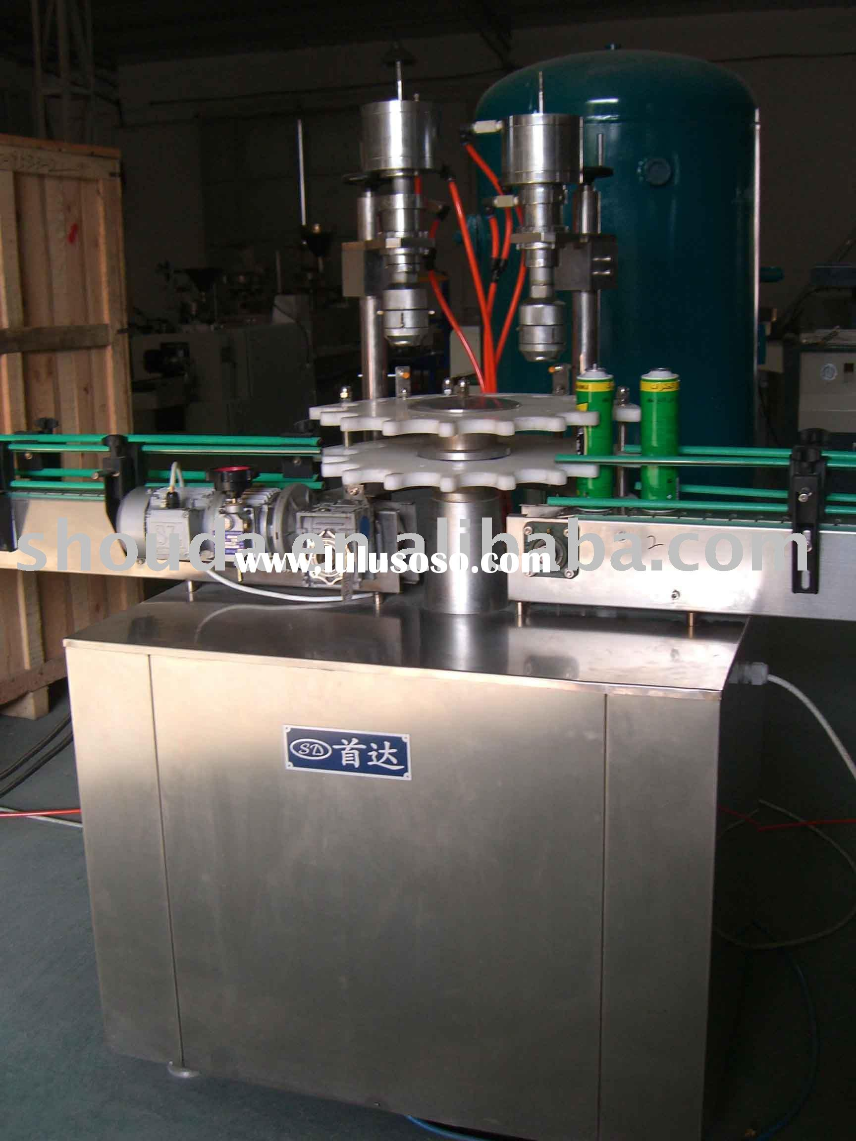 Crimping Machine for aerosol cans/easy open can/ milk can